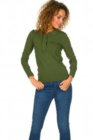 Dante 6 |  Light polo sweater Mae | green  | Picture 2