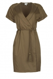 Dante 6 |  Wrap dress Vance | green  | Picture 1