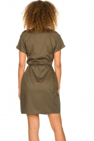 Dante 6 |  Wrap dress Vance | green  | Picture 5