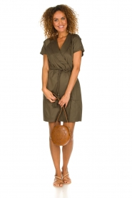 Dante 6 |  Wrap dress Vance | green  | Picture 3