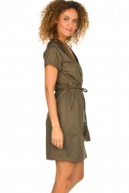 Dante 6 |  Wrap dress Vance | green  | Picture 4