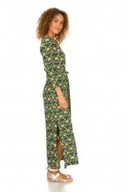 Dante 6 |  Printed maxi dress Loras | green  | Picture 4