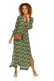 Dante 6 |  Printed maxi dress Loras | green  | Picture 2