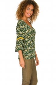 Dante 6 |  Printed top Kiki | green  | Picture 4