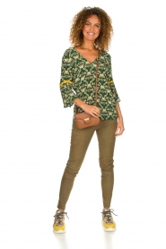 Dante 6 |  Printed top Kiki | green  | Picture 3