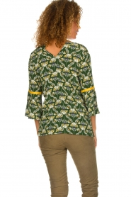 Dante 6 |  Printed top Kiki | green  | Picture 5