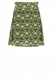 Dante 6 |  Skirt with print Frannie | green  | Picture 1