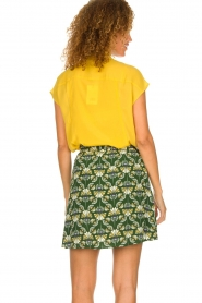 Dante 6 |  Skirt with print Frannie | green  | Picture 5