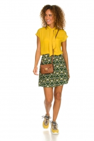 Dante 6 |  Skirt with print Frannie | green  | Picture 3