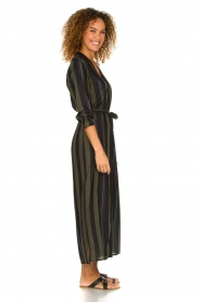 Dante 6 |  Striped maxi dress Arleen | green  | Picture 4