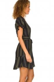 Dante 6 |  Striped dress Ian | green  | Picture 4