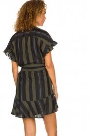 Dante 6 |  Striped dress Ian | green  | Picture 5