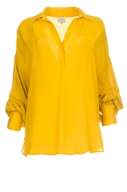 Tunic top Collyn | yellow