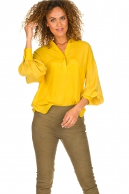 Dante 6 |  Tunic top Collyn | yellow  | Picture 2