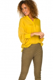 Dante 6 |  Tunic top Collyn | yellow  | Picture 4