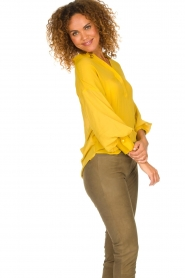 Dante 6 |  Tunic top Collyn | yellow  | Picture 5