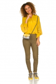 Dante 6 |  Tunic top Collyn | yellow  | Picture 3
