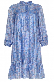Dante 6 |  Floral dress Lalique | blue  | Picture 1
