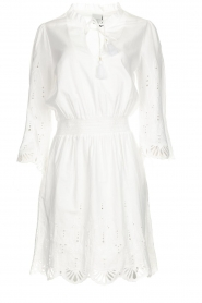 Dante 6 |  Embroidered dress Iris | white  | Picture 1