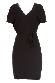 Dante 6 |  Dress with lace trimming Wren | black  | Picture 1