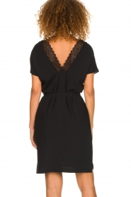 Dante 6 |  Dress with lace trimming Wren | black  | Picture 5