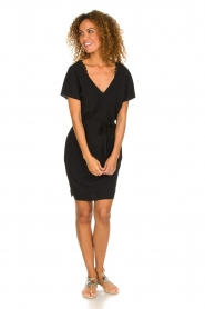 Dante 6 |  Dress with lace trimming Wren | black  | Picture 3