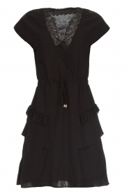 Dante 6 |  Dress with lace Polly | black  | Picture 1