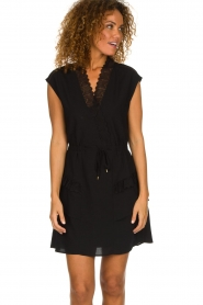 Dante 6 |  Dress with lace Polly | black  | Picture 2
