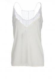 Dante 6 |  Sleeveless top with lace Adella | natural  | Picture 1