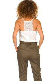Dante 6 |  Sleeveless top with lace Adella | natural  | Picture 5