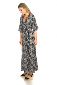 BEACHGOLD | Wrapped dress Angie | black  | Picture 4