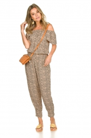 BEACHGOLD | Jumpsuit with dots Cap | beige  | Picture 3