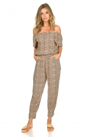 BEACHGOLD | Jumpsuit with dots Cap | beige  | Picture 2
