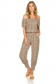 BEACHGOLD | Jumpsuit with dots Cap | beige  | Picture 4