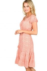 BEACHGOLD | Jurk met stippen Harper | Dress with dots Harper | pink  | Picture 4