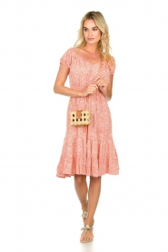 BEACHGOLD | Jurk met stippen Harper | Dress with dots Harper | pink  | Picture 3