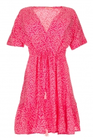 BEACHGOLD | Dress with floral print Betty | pink  | Picture 1