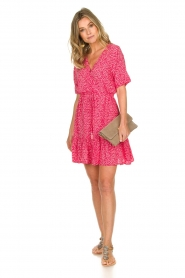 BEACHGOLD | Dress with floral print Betty | pink  | Picture 3