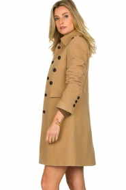 Set |  Woolen coat Martina | camel  | Picture 5