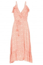 BEACHGOLD | Wrapped dress with dots Lotti | pink  | Picture 1