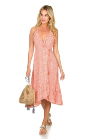 BEACHGOLD | Wrapped dress with dots Lotti | pink  | Picture 3