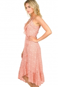 BEACHGOLD | Wrapped dress with dots Lotti | pink  | Picture 4