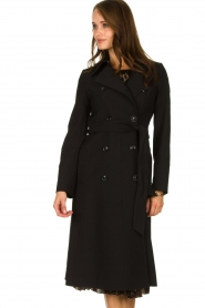 Set |  Classic trench coat Mayra | black  | Picture 2