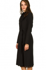 Set |  Classic trench coat Mayra | black  | Picture 4