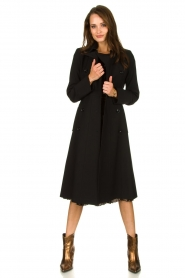 Set |  Classic trench coat Mayra | black  | Picture 6