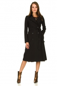 Set |  Classic trench coat Mayra | black  | Picture 3