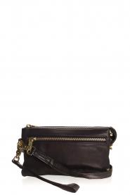 Depeche |  Leather shoulder bag Romy | black  | Picture 1