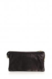 Depeche |  Leather shoulder bag Romy | black  | Picture 4