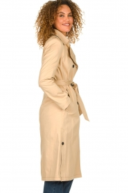 Set |  Trench coat Merve | camel  | Picture 4
