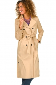 Set |  Trench coat Merve | camel  | Picture 2